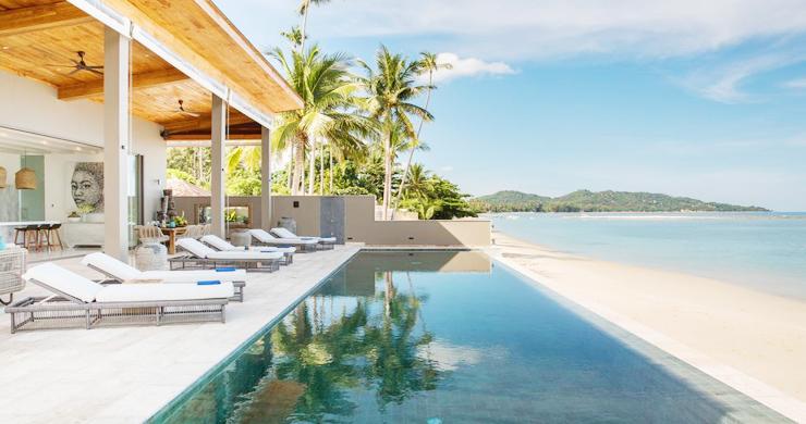 Contemporary 6 Bedroom Beach Front Villa in Laem Sor-15