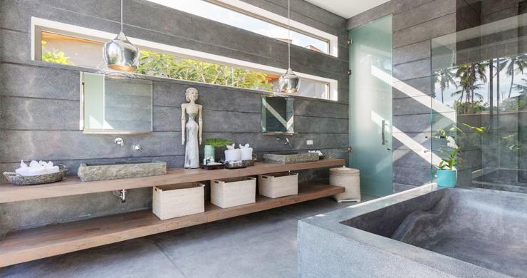 Contemporary 6 Bedroom Beach Front Villa in Laem Sor-9