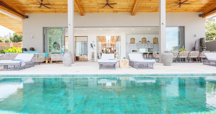 Contemporary 6 Bedroom Beach Front Villa in Laem Sor-5
