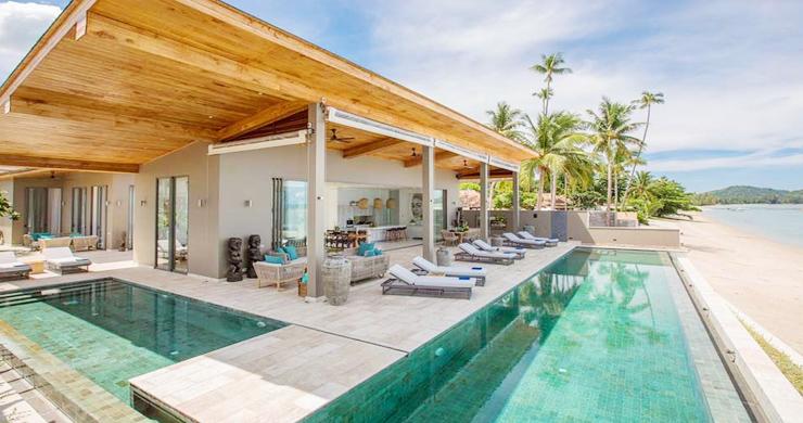 Contemporary 6 Bedroom Beach Front Villa in Laem Sor-1