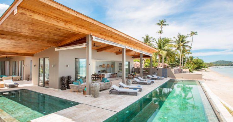 Contemporary 6 Bedroom Beach Front Villa in Laem Sor-14