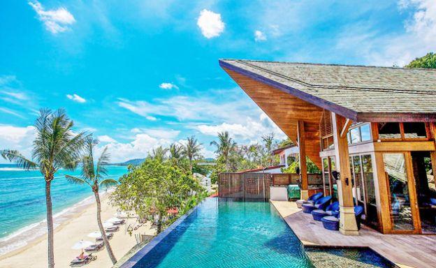 Luxury 5 Bedroom Beach Front Pool Villa in Lamai