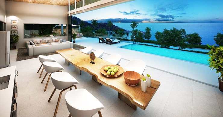 Epic 5 Bed Sea view Luxury Villa on Chaweng Noi Bay-11