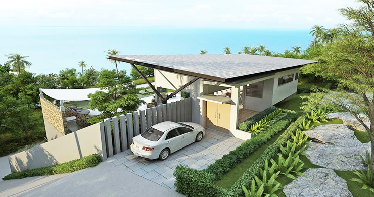 Epic 5 Bed Sea view Luxury Villa on Chaweng Noi Bay-12