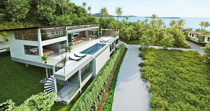 Epic 5 Bed Sea view Luxury Villa on Chaweng Noi Bay-1