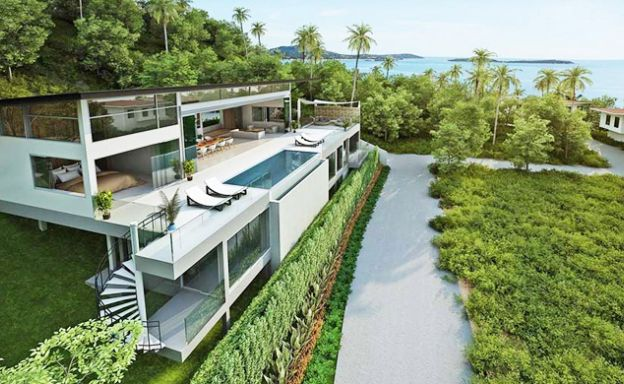 Epic 5 Bed Sea view Luxury Villa on Chaweng Noi Bay