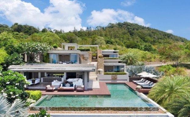 Super Luxury 4 Bedroom Sea View Villa in Choeng Mon
