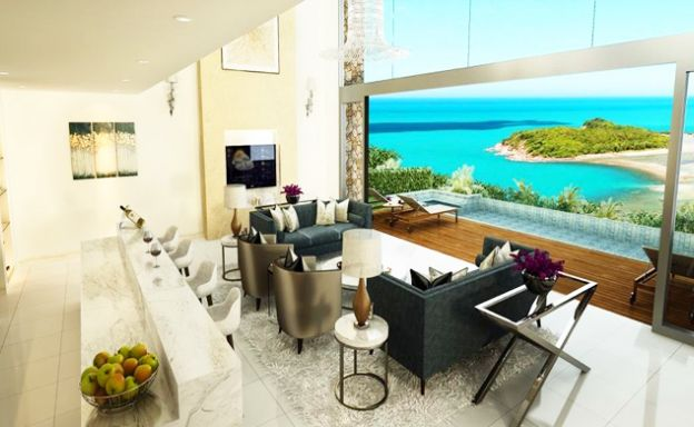 Majestic 5 Bed Luxury Sea View Villa in Cheong Mon