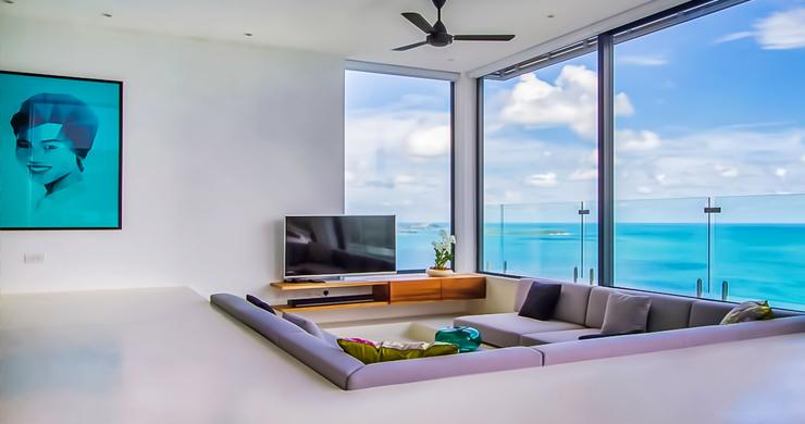 Ultra Modern 5 Bedroom Sea View Villa in Chaweng Noi-5
