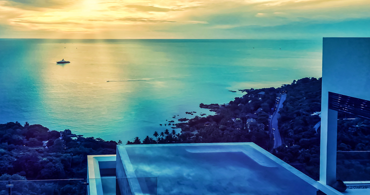 Ultra Modern 5 Bedroom Sea View Villa in Chaweng Noi-19