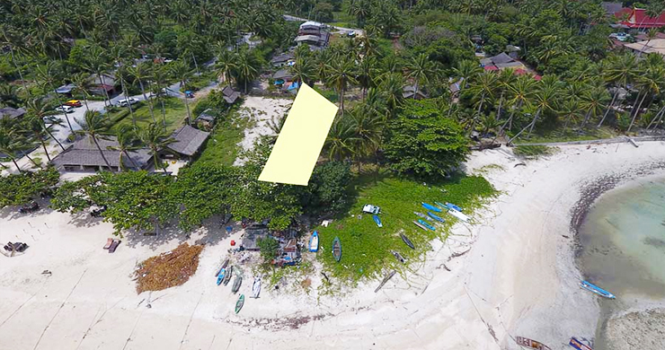 Peaceful Beachfront Land for Sale in Taling Ngam-6
