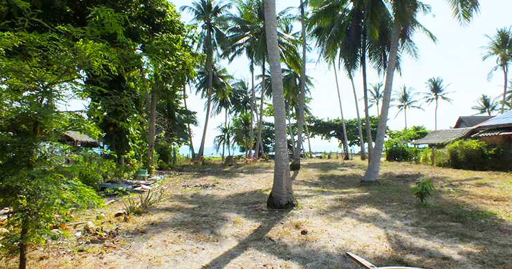 Peaceful Beachfront Land for Sale in Taling Ngam-3