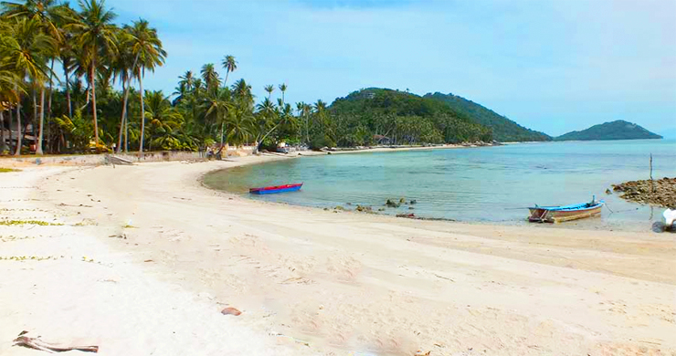 Peaceful Beachfront Land for Sale in Taling Ngam-1