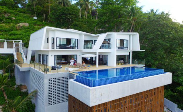 Unique 3 Bedroom Pool Villa for Sale in Laem Set