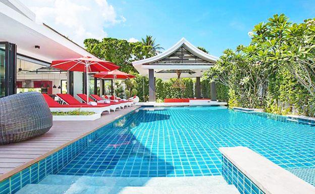 Luxury 5 Bed Beachfront Villa for Sale in Hua Thanon