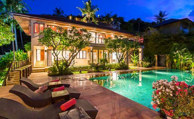 Luxury 4 Bedroom Sea View Pool Villa in Bophut