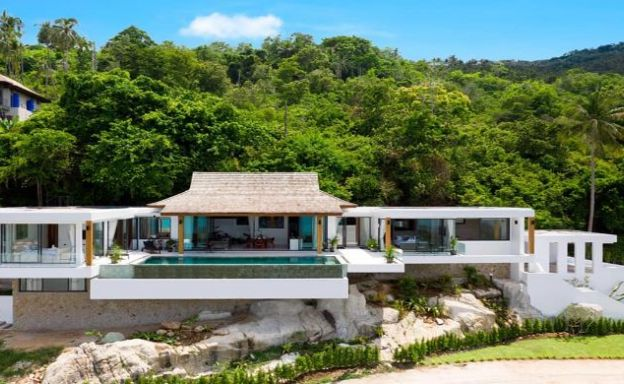 200 Degree Sea View Luxury Bali Villa in Chaweng Noi
