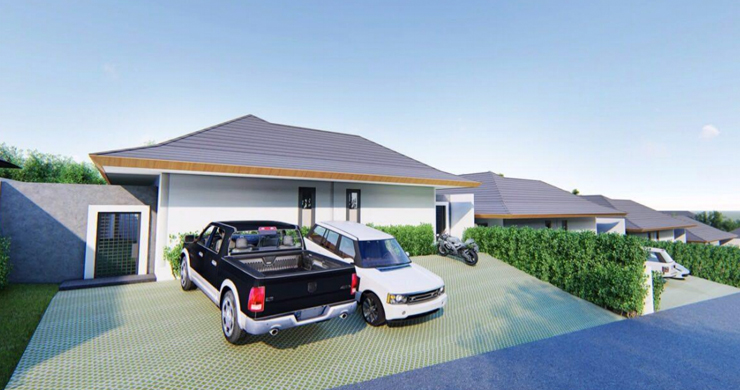 New 3 Bedroom Luxury Pool Villas in Maenam-9
