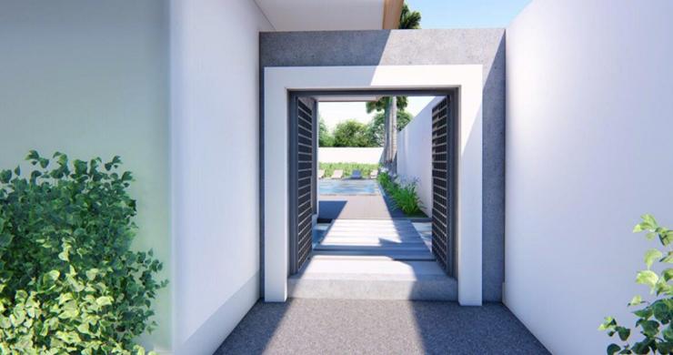 New 3 Bedroom Luxury Pool Villas in Maenam-8