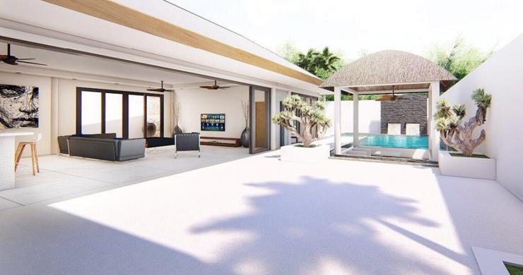 New 3 Bedroom Luxury Pool Villas in Maenam-4