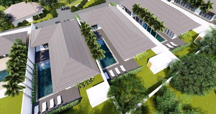 New 3 Bedroom Luxury Pool Villas in Maenam-10
