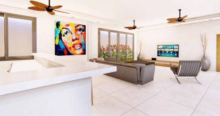 New 3 Bedroom Luxury Pool Villas in Maenam-2