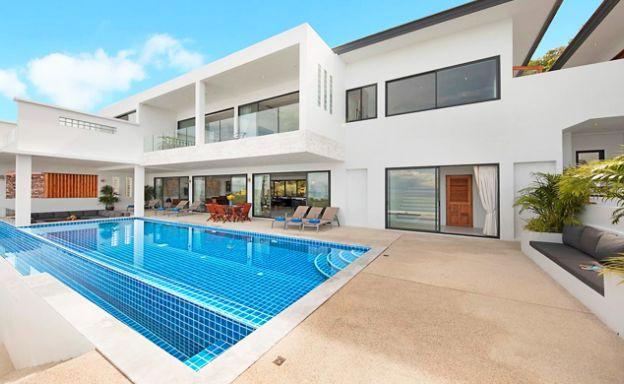 5 Bedroom Luxury Beach View Pool Villa in Plai Laem