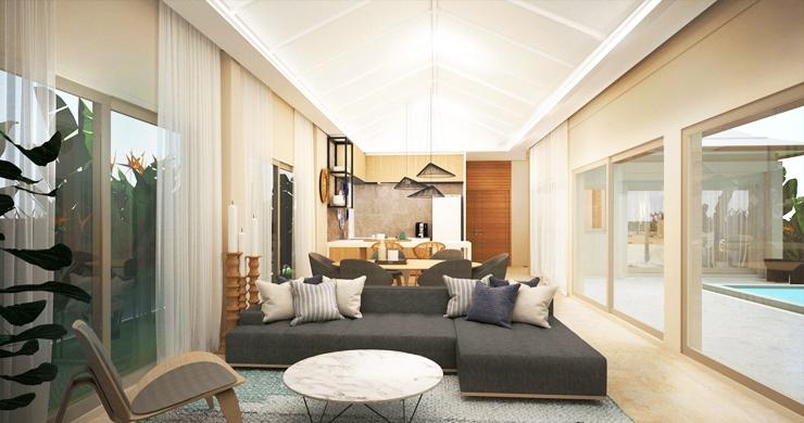 Modern 3 Bedroom Pool Villas Close to Lamai Beach-7
