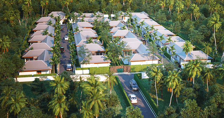 Modern 3 Bedroom Pool Villas Close to Lamai Beach-8
