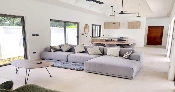 Modern 3 Bedroom Pool Villas Close to Lamai Beach-2