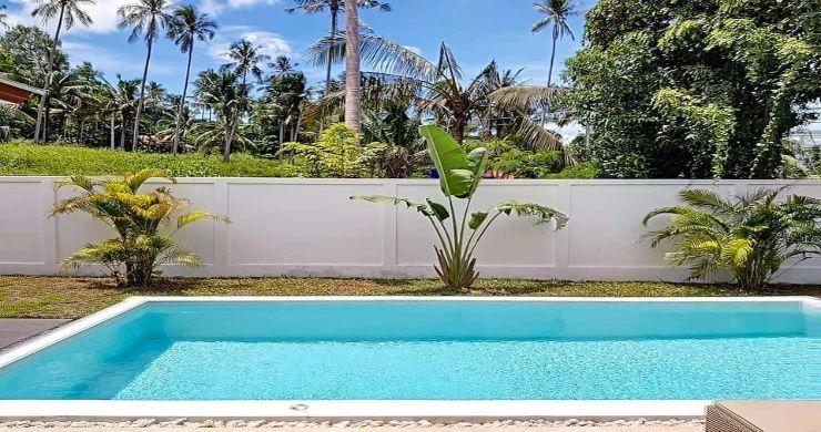 Modern 3 Bedroom Pool Villas Close to Lamai Beach-5
