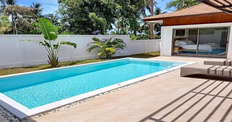 Modern 3 Bedroom Pool Villas Close to Lamai Beach-4