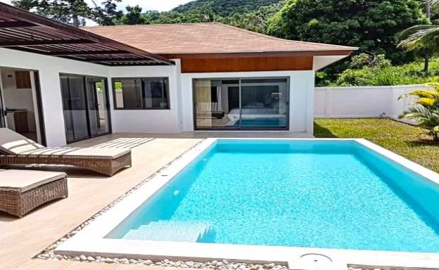 Modern 3 Bedroom Pool Villas Close to Lamai Beach