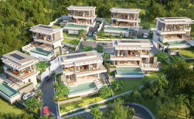 3 Bedroom Luxury Sea View Villa Project in Chaweng