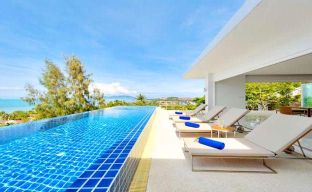 Luxury 3 Bedroom Sunset Sea View Villa in Big Buddha