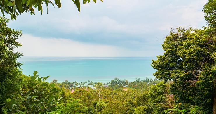 180 Degree Sea View Land for Sale in Laem Yai-2