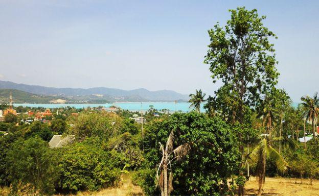 Premium 1 Rai Sea View Land for Sale in Plai Laem
