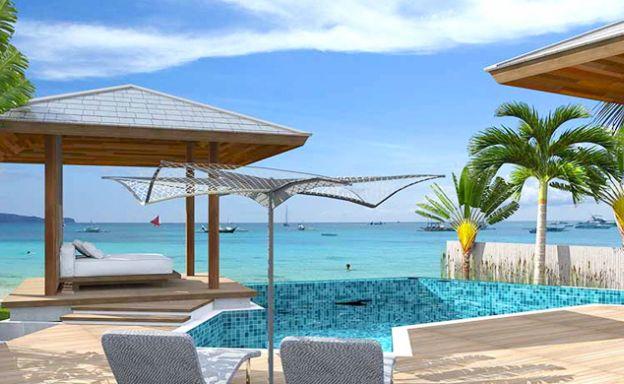 Modern 4 Bedroom Beachfront Villas in Lipa Noi