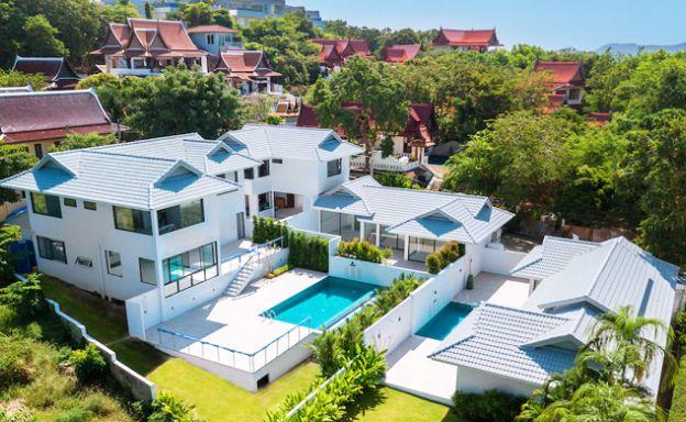 Contemporary 4 Bedroom Sea View Villa in Big Buddha